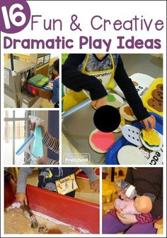 10 Great Dramatic Play Ideas for the Early Childhood Classroom from Play to Learn Preschool Dramatic Play Themes, Dramatic Play Area, Dramatic Play Centers, Play Based Learning, Kids Learning Activities, Learning Through Play, Learning Centers, Teaching Resources, Preschool Lesson Plans