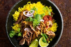 """""""Traditionally a Balinese ceremonial dish, the duck is smothered in spice paste, wrapped in bark and roasted until perfectly succulent. Baking paper and foil make a good substitute – just make sure you get a tight seal so it steams and roasts at the same time."""" - Marion Grasby"""