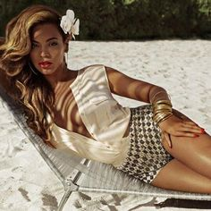 Beyonce for H Summer! beach, bronzed, beautiful