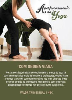 Mais uma sessão de aperfeiçoamento de yoga, para quem quer aprofundar matérias, igualmente essenciais, nomeadamente ao nível da RESPIRAÇÃO, das POSTURAS (suas variantes, aperfeiçoamentos), do CORPO e da MENTE.