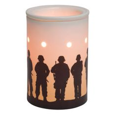 Service and sacrifice. Thanks for the interest in Scentsy. My name is Angela McDonald and #ichoosescentsy Ask me how to earn this warmer for free.  If you would like to order simply go to my website and place your order through any party. http://It-Just-Makes-Scents.scentsy.us