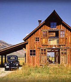 Lovely barn, like the slider doors