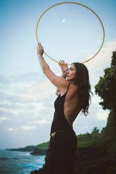 hawaii hooping  cadencia photography