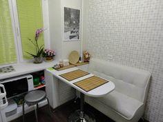 Дизайн угловой белой кухни 5,7 кв.м (12 фото)