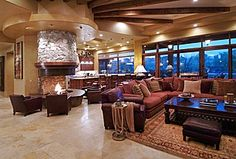 Great Contemporary Great Room
