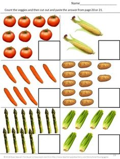Growing Vegetable Soup Book Study Cut and Paste Activities Reading Comprehension Growing Vegetables, Fruits And Vegetables, Veggies, Eat Fruit, Fruit And Veg, Cutting Practice, Uses For Coffee Grounds, Home Vegetable Garden, Book Study