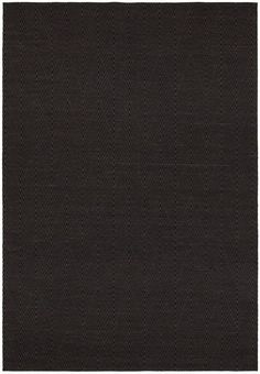 Chandra Rugs Ciara 27700 Brown and Black Cotton Blend Shag Area Rug Hand Woven i 5 x 7 1/2 Home Decor Rugs Rugs