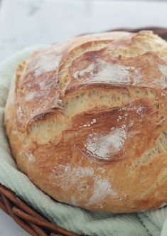 This bread without kneading is light and airy. The recipe requires a minimum of e . Cooking Bread, Cooking Recipes, Savory Scones, Good Food, Yummy Food, Food Stamps, Minimum, Bakery, Easy Meals