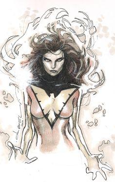 Jean Grey - Dark Phoenix by Olivier Coipel