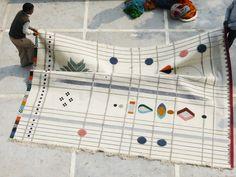 Rabari Rug by Nipa Doshi & Jonathan Levien for Nanimarquina   Flodeau.com