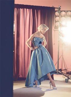 Viktoriya Sasontoriya photographed by Steven Meisel for Vogue Italia, September 2008.