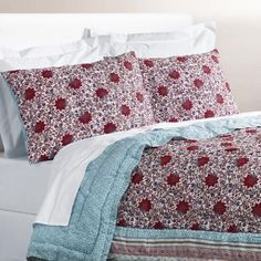 One of my favorite discoveries at WorldMarket.com: Floral Kareena Bedding Collection