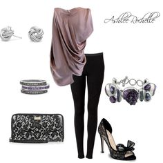 Evening Plum, created by ashlee470 on Polyvore