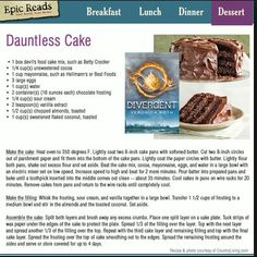 EPIC READS MADE THIS AND I WANT IT NOW AND I WILL HAVE A LITTLE PARTY WITH MY DAUNTLESS CAKE FOR THE PREMIERE!