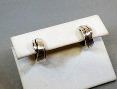 Ohrringe Creolen Silber 925 Silber Vintage SO107 von Schmuckbaron
