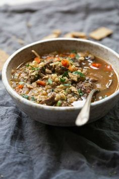 Beef Barley Soup | Community Post: 15 Instant Pot Soup Ideas You Seriously Need To Try