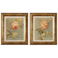 Rose / Poppy Framed Art