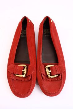 3c6f89d299b Burberry driving loafers at Rice and Beans Vintage Driving Loafers
