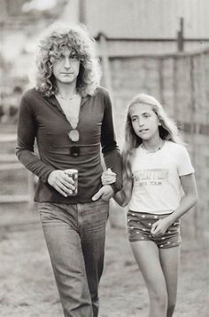 Robert Plant and Carmen Plant, 1979