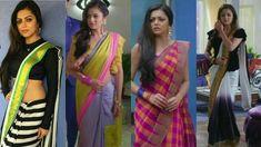 indian tv actress saree