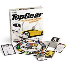 Top Gear Board Game, $29.99  **Top Gear UK Trivia game, I think we are going to need to bring back family game night @Tre Morris @Tori Alcala-Martini**