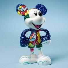 Disney Britto Winter Mickey Britto - Friends 2 Hold On Webshop
