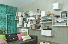 Sala criada por Marcelo Rosenbaum custou 10 x R$ 818 - Casa