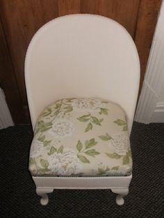 Vintage Lloyd Loom Chair Bedroom Conservatory Nursery for sale on Preloved Liverpool