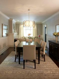 5 Rules for hanging dining room chandeliers | House. | Pinterest ...