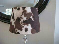 Nguni Hide Lamp Shades