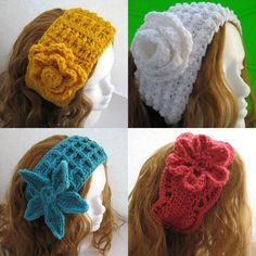 Free Crochet Head Warmer Pattern | Crochet Pattern for Ear Warmers by CraftMagic