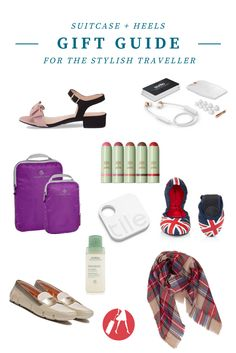 2016 Travel Gift Guide for the Stylish Traveller via @suitcaseheels