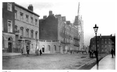 way back Old Pictures, Old Photos, Gone Days, Photo Engraving, Dublin Ireland, Street View, Explore, History, Revolution