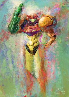 Samus by Sinhra on deviantART
