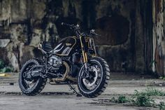 Hot Chocolate: A BMW custom bike inspired by a Snickers bar (yes, really)