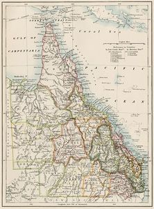 Map Antique. Johnson's New Jersey. A. J. Johnson. 1866 ...