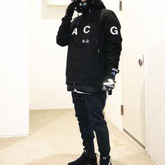 ENDで黒XLがリストックしてたのでついつい倶楽部♂️♂️♂️ T181 70kg ACG CAP ACG NECK GAITER ACG ALPINE Jacket : XL ACG CARGO PANTS : S acrnm LF1 Sup x TNF GLOVE #acronym#acrnm#アクロニウム#nikeacg#acg#NIKE#NIKELAB#ナイキ#sneakers#スニーカー#kicks#キックス#ジャパスニ#japanesesneakerheads#シュプリーム#supreme#supremenyc#supremejp#supremejapan#instapreme#コーデ#コーディネート#ootd#outfit#fashion#ファッション#snap#スナップ#ファッションコーデhilifesb#antisocialsocialclub