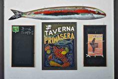 Ψαροταβέρνα Primasera - Πούντα, Πόρος - Greek Gastronomy Guide The Outsiders, Drink, Eat, Painting, Beverage, Painting Art, Paintings, Painted Canvas, Drawings