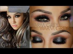 Look GRIS CALIDO Economico ( Warm Grey Smokey Eye INEXPENSIVE) - YouTube