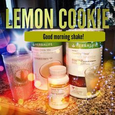 Adding TEA to your shake?! YUP!!!!! Check out this yummy recipe! Lemon Cookie!!!! -2 scoops Herbalife cookies and cream f1 -1 tsp lemon tea -1 1/2 scoops PDM or heaping spoon PPP goherbalife.com/rachel-collins