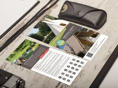 Conception et impression d'un flyer au format DL pour le Camping de l'Aigrette situé à Attichy 60350 (entre Compiègne et Soissons)