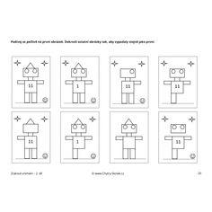 Pro předškoláky - Zrakové vnímání 2. díl - chytry-skolak.cz Diagram, Logo, Asia, Logos, Environmental Print