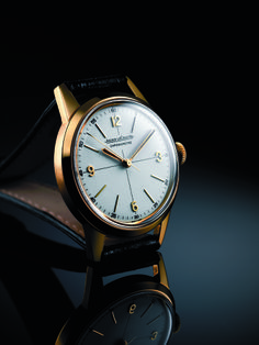 Jaeger LeCoultre Geophysic at the Explorer's Club