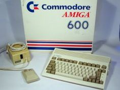 After the Commodore 64 we upgraded to an Amiga 600!!!