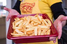 #patate #patatine #fritte #gnam #buonissime #foodporn #girarrostosantarita
