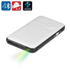 Android Mini DLP Projector Wi-Fi Bluetooth HDMI USB Business Home