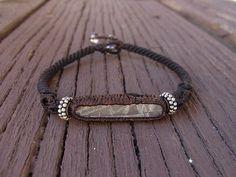 Gibeon meteorite bracelet
