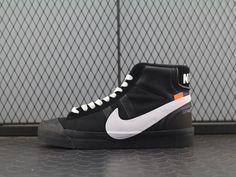 huge selection of 575bd 021bf Off White x Nike Blazer Studio MID AA3832-001. White NikesAir ...