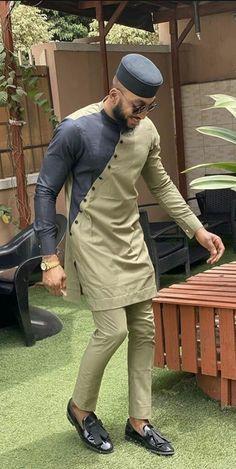 Latest African Wear For Men, Latest African Men Fashion, African Shirts For Men, Nigerian Men Fashion, African Dresses Men, African Attire For Men, African Clothing For Men, Mens Fashion, African Fashion Designs For Men