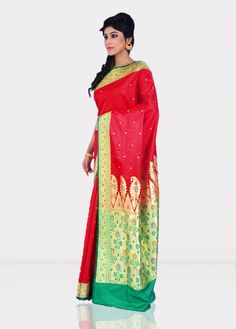 Banarasi Sarees are recognized as Indian bridal trousseau.There are four varieties of Banarasi Saree - Pure silk;Organza with Zari and silk;Georgette, which according to design process,are divided into Jangla, Tanchoi,